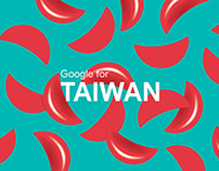 Google for Taiwan — Visuals & event identity