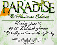 Paradise - The Hawaiian Edition FLYER