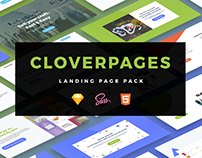 eCommerce - CloverPages - Landing Page Pack
