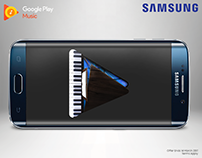 Samsung S8 and Google play music promotion