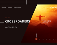 Corporative website for Crossroad Labs company