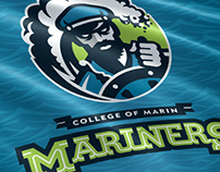 College Of Marin Branding