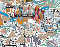 Chongqing, a city like Madrid 135 times