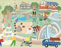北投公園百年紀念主視覺 2013 Beitou Park Centennial Celebrations