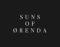 SUNS OF ØRENDA // CD Artwork + Branding // 2017