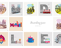 Boarding pass series