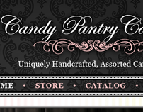 Candy Pantry Caramels - Logo, Web Development & Design