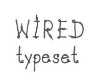 wired vector typeset
