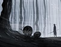 In The Black Woods Of Fog