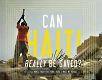 Relevant Magazine July/Aug 2010 Cover & Feature - Haiti