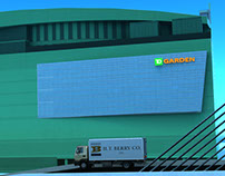 3D Animation - H.T. BERRY, Inc. / TD Garden Marketing