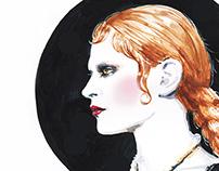 Givenchy. Vampire chic.