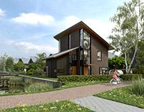 Exterieurimpressies Lange Riest - Van Bekkum Projecten