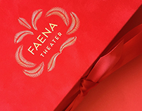 Faena Theater opening invitation