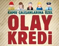 Halkbank - Olay Kredi Campaign Ad