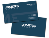 Lamers Creative Business Cards