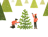 The Boston Globe: Why we bought a Charlie Brown Tree