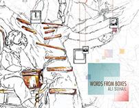 Album Art | Words from boxes | Ali Suhail