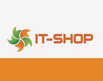 Online shop of computer equipment