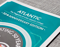 Atlantic College Magazine Design