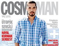 Ahmet Olgun Sunear for Cosmopolitan