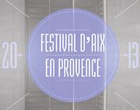 Festival d'Aix Website