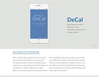 DeCal Redesign (UC Berkeley)