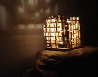Constructive Light Sculpture