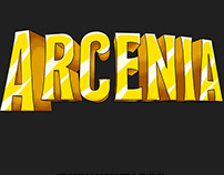 Arcenia Network - Hand Drawn Logo