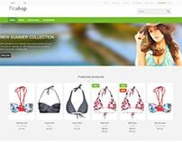 Proshop, Magento Green Responsive Premium Store Theme
