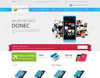 Pav Metro Store, Opencart Windows 8 Style Metro Theme