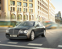 2013 Bentley Flying Spur, shot by Simon Stock