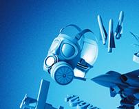 Swedish Air Force Museum - Branding Illustration