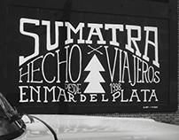 SUMATRA mural
