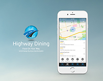 Highway Dining iOS and Android App