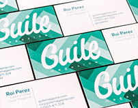 Guile Magazine Business Cards