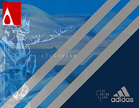 Create a wall mural for Adidas Women's
