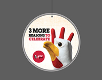 KFC campaigning