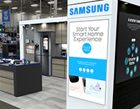 Samsung IoT Experience Retail Display