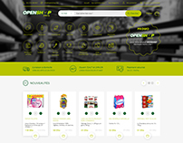 Openshop - ecommerce website