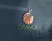 Beautiful orange🍊 logo