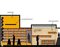 Editorial Magisterio - Diseño Interior Libreria + Café