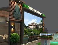 Talaat Mostafa Stand in Cityscape Dubai.