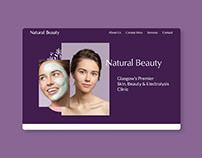 Natural Beauty Glasgow -Website