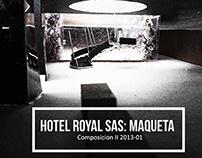 Hotel SAS Royal Maqueta/ Moderna 2014 -02
