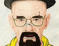 Walter White Caricature
