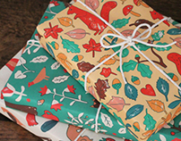Wrap magazine wrapping papers