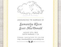 Scott & Sam // Save the Date