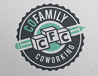 COFAMILY Coworking · Corporate identity
