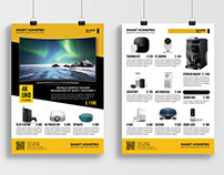 Promotional Product Sale Flyer.